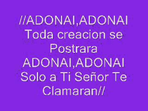 ADONAI CON LETRA