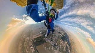 BNT 230 Mój trzeci skok ze spadochronem 4000m. (szkolenie AFF Strefa Silesia)