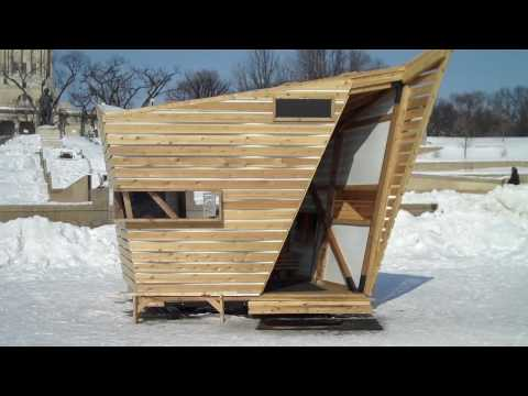 Warming Huts - River Skating Trail, Winnipeg