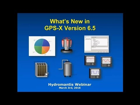 Webinar: What's New in GPS-X Version 6.5