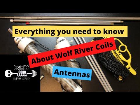 Wolf River Coils Ham Radio Antennas.  A Deep Dive.