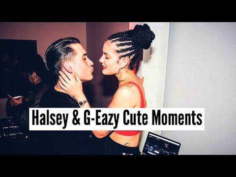 Halsey & G-Eazy | Cute Moments