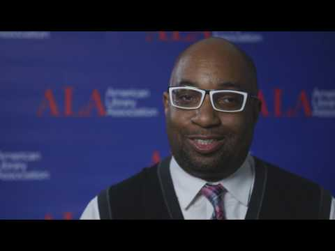 2017 ALA Midwinter - Kwame Alexander on Poetry, Libraries Changing Lives