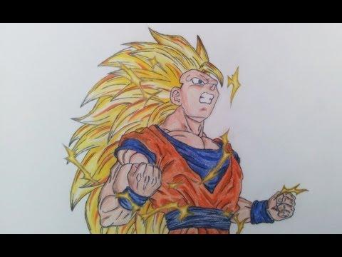 Drawing Goku SSJ3