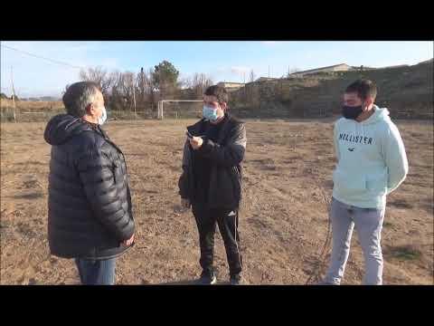 """CD BOTORRITA """" La ilusión de volver a jugar al fútbol """" / Marcos (Presidente) y Rafa (Entrenador)"""