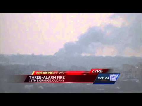 3-alarm Fire Reported Near Mitchell Airport - Smashpipe News