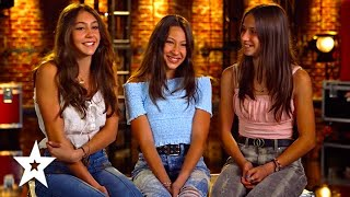 GIRL POWER! Three Sisters Rock Out on America's Got Talent 2021 | Got Talent Global