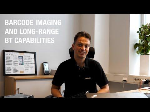 Handheld ALGIZ 8X: Barcode imaging and long-range BT capabilities