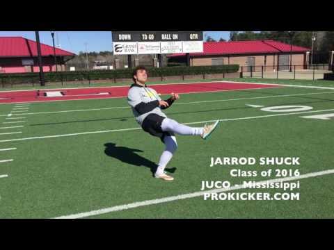 Jarrod Shuck, Prokicker.com Punter, JUCO, Mississippi
