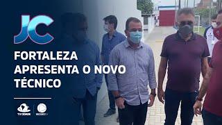Fortaleza apresenta o novo técnico Enderson Moreira