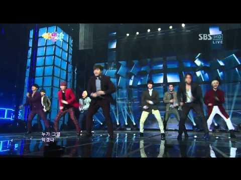 [HD]121229 SBS Gayo Daejun - Super Junior - Sexy, Free & Single