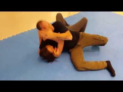 Self Defense Against a Headlock