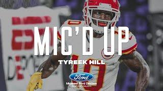 """Tyreek Hill Mic'd Up: """"Throw Me Up Man!""""   Week 3 vs. Baltimore Ravens"""