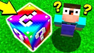WHAT'S INSIDE THIS MINECRAFT BLOCK? (Minecraft LUCKY BLOCK RACE) w/ UnspeakableGaming & 09SharkBoy