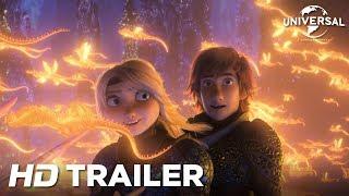 Como Treinar O Seu Dragão 3 - Trailer Oficial (Universal Pictures) HD