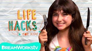Bored at a Restaurant?   LIFE HACKS FOR KIDS