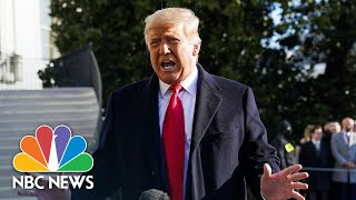 Trump Dismisses Impeachment As 'Ridiculous' And Calls For 'No Violence' | NBC News