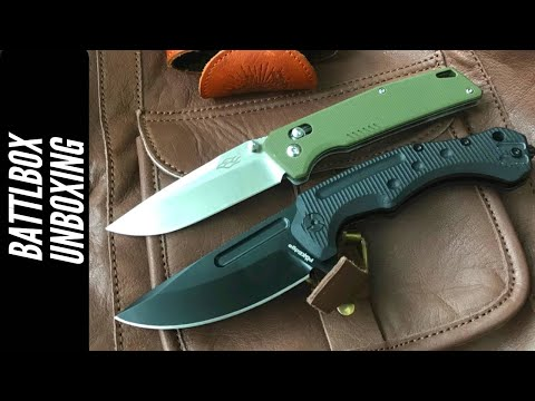 BattlBox Unboxing: 2 Knives…and….???