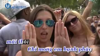 Karaoke Chuỗi Ngày Vắng Em Remix   Châu Khải Phong