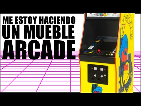 Me estoy haciendo un mueble arcade.