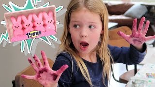 How to Make Edible Homemade Play Dough out of Peeps