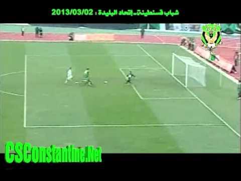1/8 Coupe d'Algérie : CSC 3 - USMB 1 : Le but de Hemani