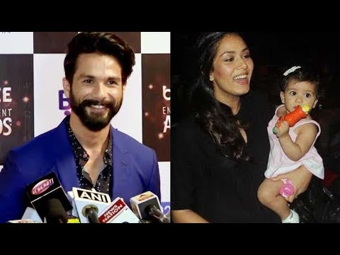 Shahid Kapoor Shares His Plans For Baby Misha's First BIRTHDAY