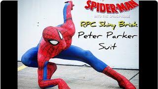 """TstunningSpidey: My """"RPC Studio"""" ShinyBrick Spider-Verse Peter Parker Suit"""