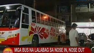 UB: Mga bus sa Pasay na lalabag sa nose in, nose out policy, huhulihin ng mga tauhan ng MMDA