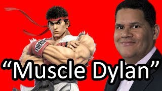 Reggie guesses the names of Smash Bros. characters
