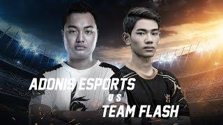 Team Flash vs Adonis Esports - Playoff - ĐTDV Mùa Xuân 2018 - Garena Liên Quân Mobile