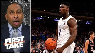 Zion & Porzingis on the Knicks would be 'box office' - Stephen A.   First Take