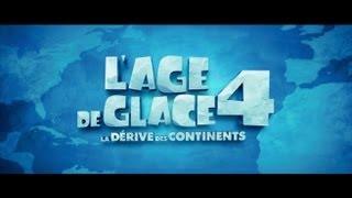 L'age de glace 4 : la dérive des continents :  bande-annonce VF
