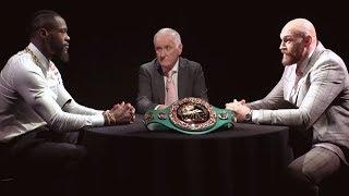 Face Off: Deontay Wilder v Tyson Fury