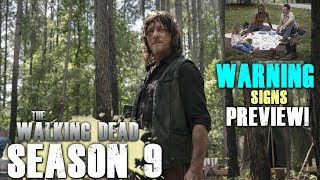The Walking Dead Season 9 Episode 3 - Warning Signs Video Pics Preview!