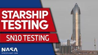 Starship SN10 Cryogenic Proof Test