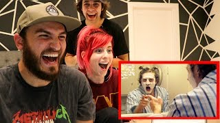 REACTING TO DELETED OLD CRINGEY VIDEOS!!