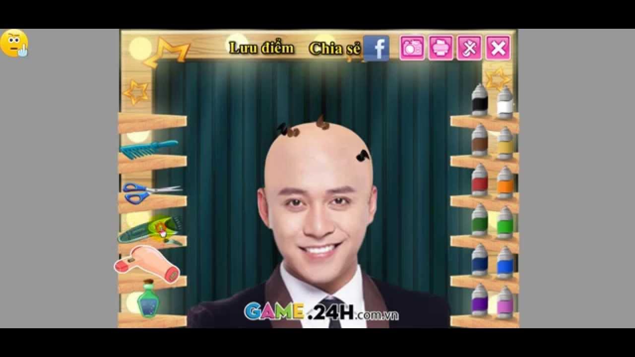 Choi game cắt tóc Tuan Hưng online mien phi