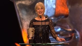 Dame Helen Mirren wins Fellowship Bafta - The British Academy Film Awards 2014 - BBC One
