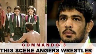 Unhappy with Commando 3 action scene, wrestler Sushil Kuma..