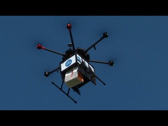 冰島電商無人機快遞 首都市民受惠