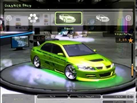 Need For Speed Underground 2 Fast And Furious Cars