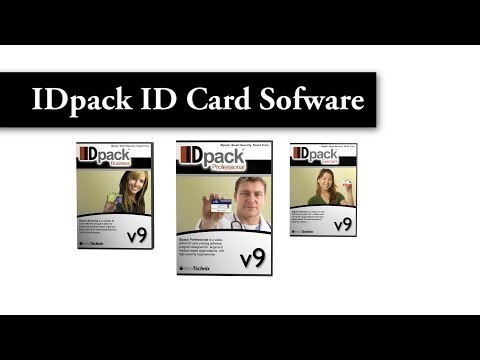IDpack Element, Business and Professional - ID Card Software - Photo ID Badge