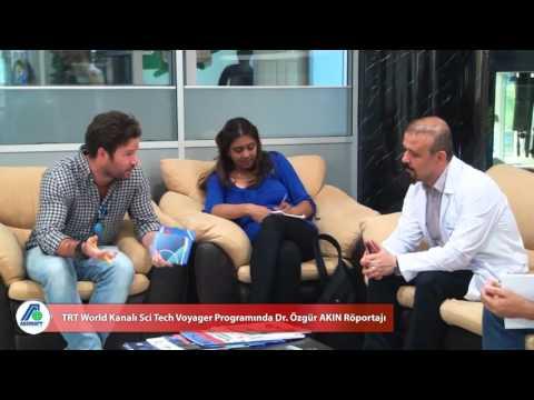 TRT World Kanalı Sci Tech Voyager Programında Dr. Özgür AKIN Röportajı