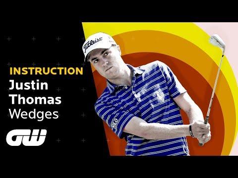 How Justin Thomas Hits a Wedge Shot   Instruction   Golfing World