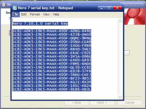 Nero Serial Number Key Applicationswindow42 S Diary