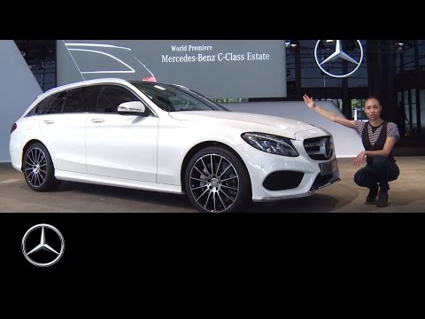 Mercedes-Benz TV: The world premiere of the new C-Class Estate