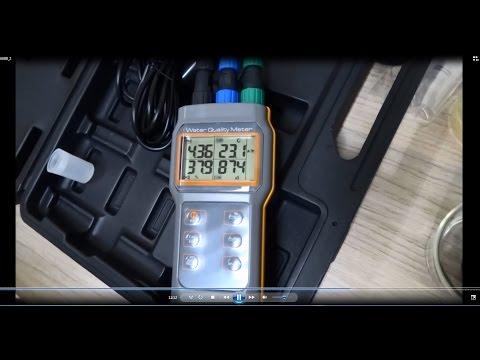 Funcionamento Medidor Multiparâmetro - AK88
