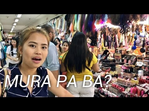 DIVISORIA Makeup & Clothing Haul (First Time With Aura Azarcon)