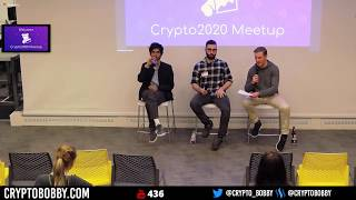 Crypto Forks and Airdrops - Live Panel with Crypto2020 at DataDog